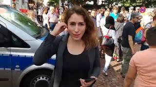 Demo gegen Merkel in Gelnhausen
