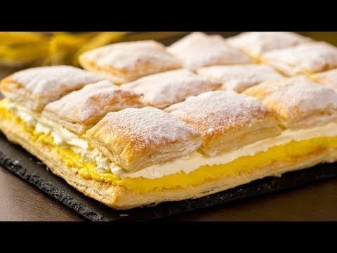 cremeschnitte-(mille-feuille)-–-gâteau-de-la-pâtisserie-austro-hongroise-fait-maison-!-|savoureux.tv