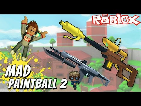 ROBLOX MAD PAINTBALL 2 - W/ Izzy