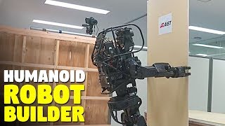 This Humanoid construction robot installs drywall by itself
