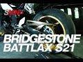 Bridgestone Battlax S21: ¿Cómo se desgasta un neumático deportivo? [FULLHD]