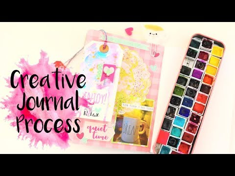 Always Make Time For Yourself Creative Journal Process