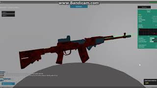 HOW TO MAKE COOL SKS GUN SKIN-Roblox Phantom Forces