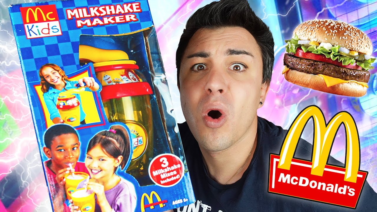 Je teste la MACHINE À MILKSHAKE McDonalds vintage !