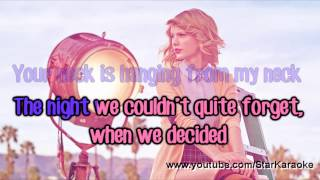 "Taylor Swift - ""Out Of The Woods"" [Karaoke/Instrumental]"