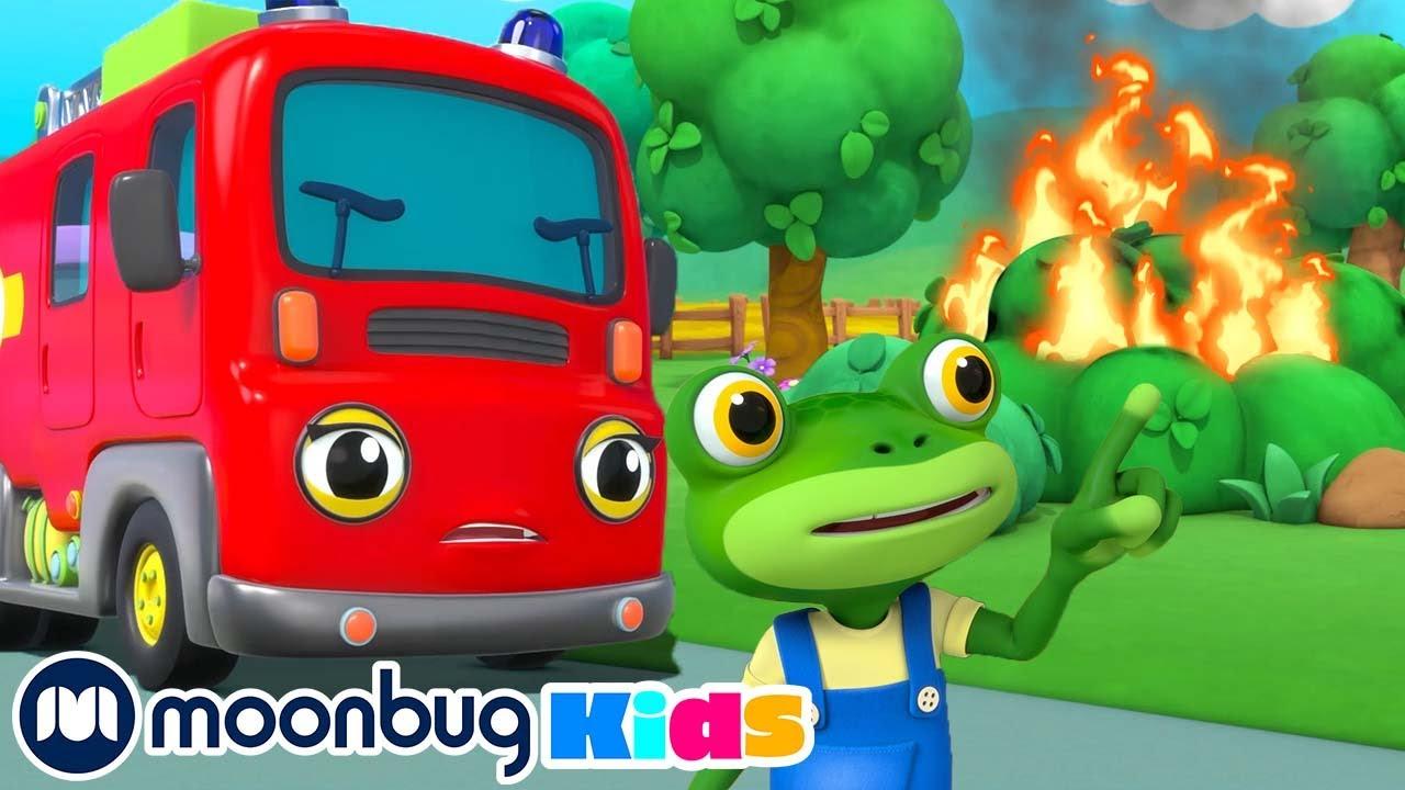 La Supersirena de Fiona - Garaje de Gecko   Caricaturas para Niños   Moonbug en Español