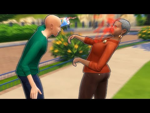 BALDI IS OUT OF CONTROL! (The Sims 4 Gameplay Roleplay) Baldi's Educational Life thumbnail