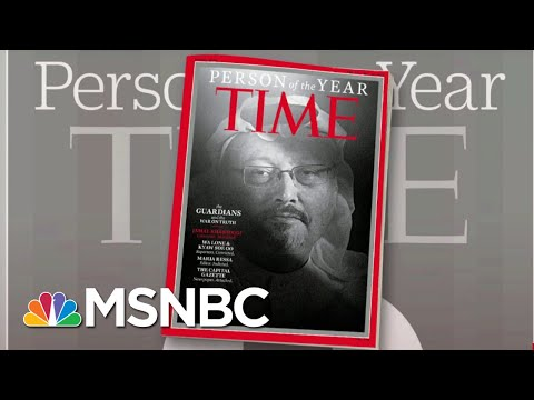 Time Picks The Guardians As Its Person Of The Year | Morning Joe | MSNBC