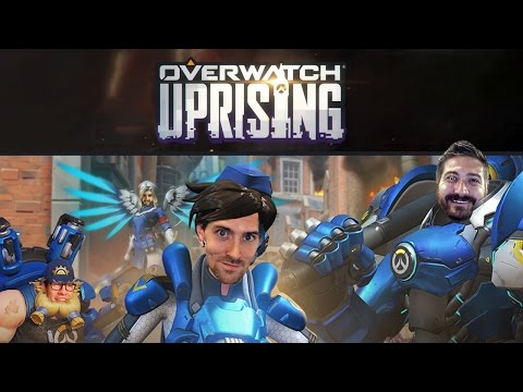 EXPERTS ONLY - Overwatch Uprising Gameplay