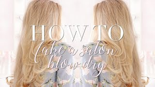 HOW TO FAKE A SALON BLOW DRY AT HOME | Freddy My Love