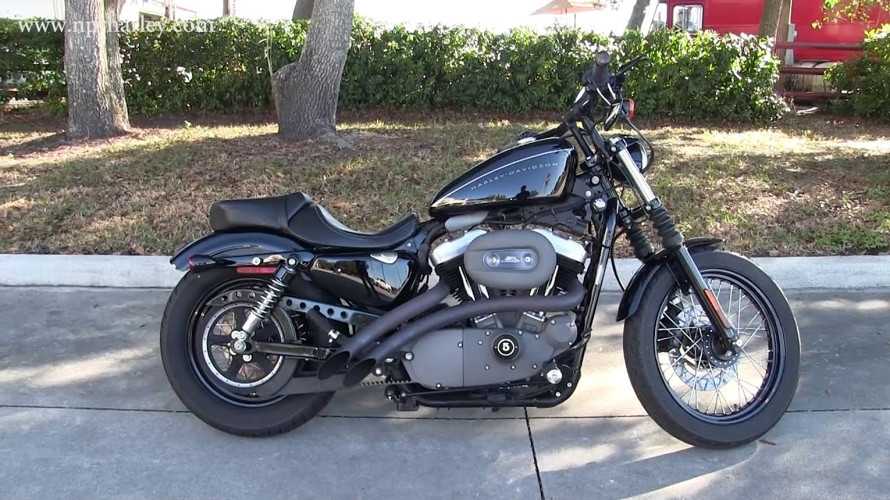 Harley Davidson: Used 2007 Harley Davidson XL1200N Nightster