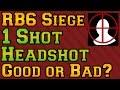 Rainbow Six Siege - 1 Shot Headshots, Good or Bad?