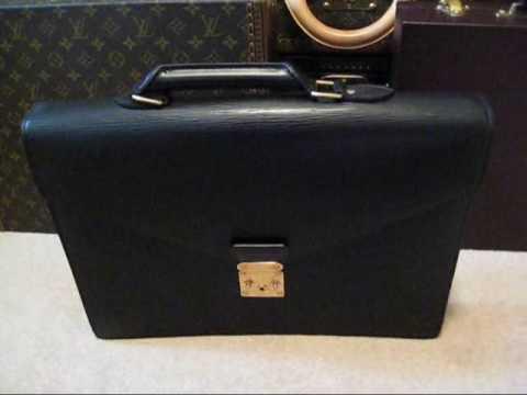5bc81a839499 COLLECTING LOUIS VUITTON - PART 7 - Briefcases - President Diplomate  Ambassador Serviette Fermoir - YouTube