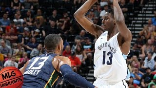 Utah Jazz vs Memphis Grizzlies Full Game Highlights / July 3 / 2018 NBA Summer League