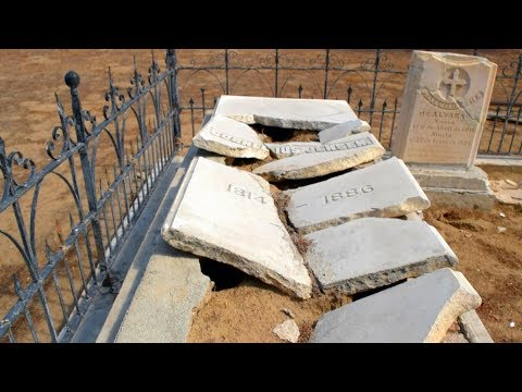 Let's Explore The Most Mysterious OLDEST Cemetery In All Of San Bernardino County
