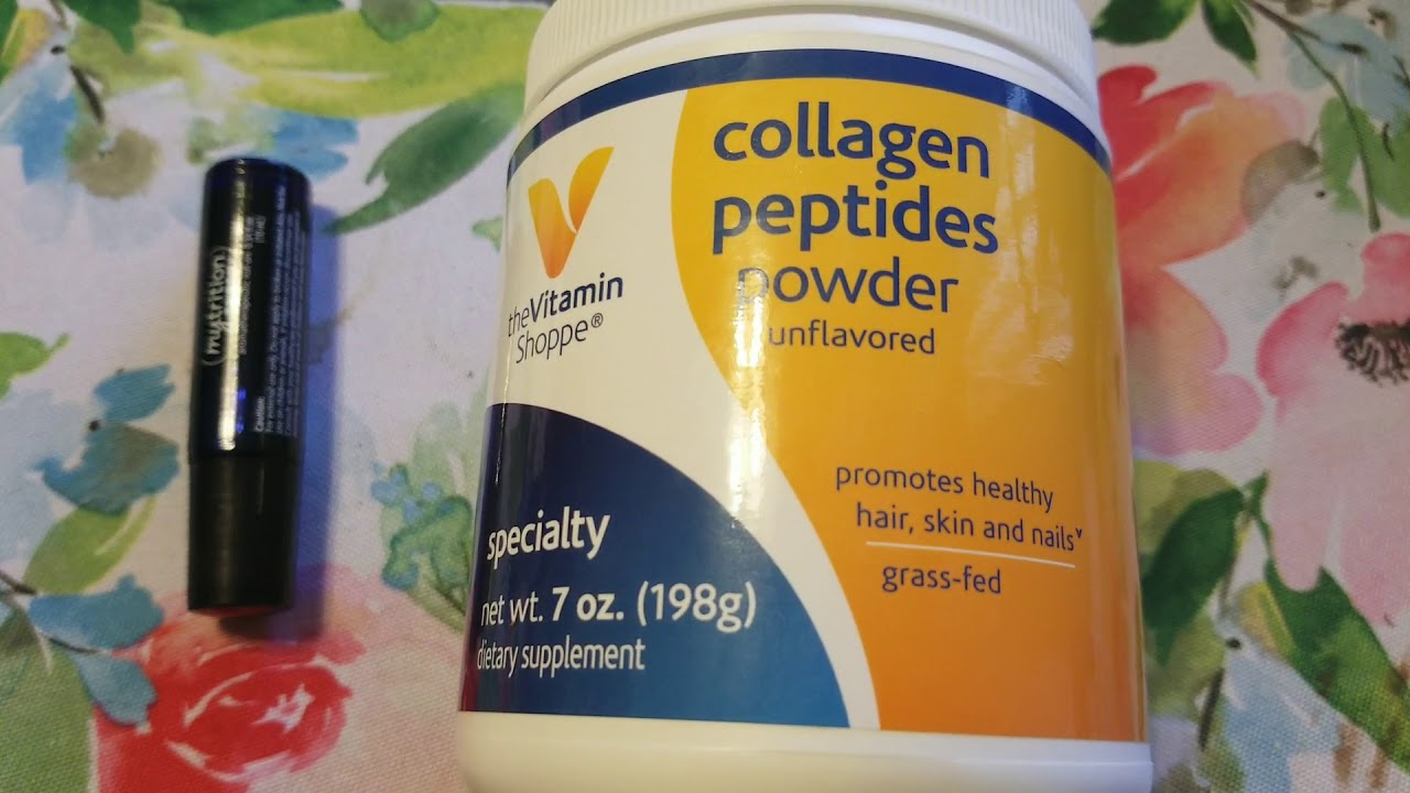 The vitamin shoppe collagen peptides powder and nutrition energy ...