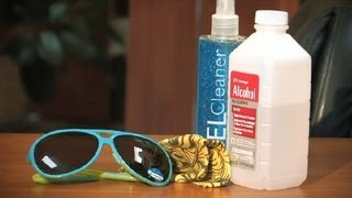How to Get Rid of Hairspray on Sunglasses : Sunglasses FAQs