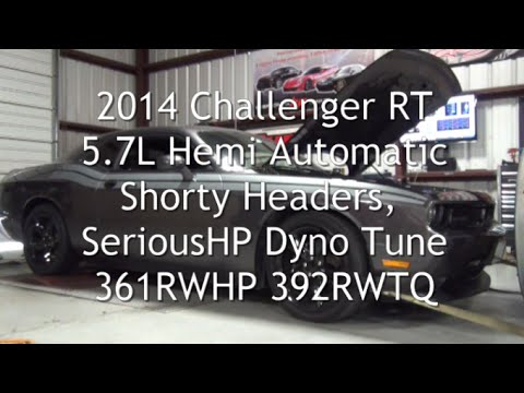 2014 Challenger Rt Auto Shorty Headers Shp Tune 361hp