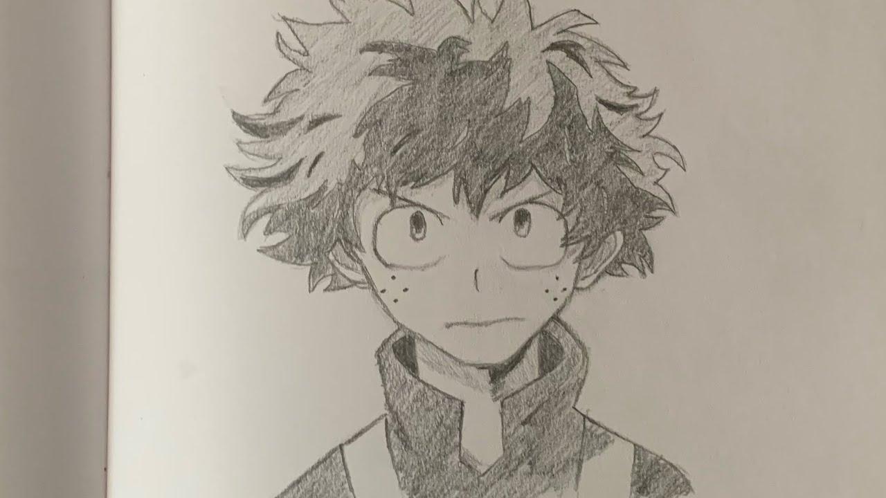 Featured image of post Deku Anime Drawings My Hero Academia Easy
