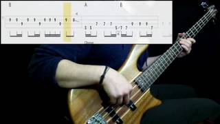 Sublime - Santeria (Bass Cover) (Play Along Tabs In Video)