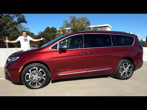 Chrysler Pacifica Pinnacle 2021 года - это люксовый минивен за $50 000