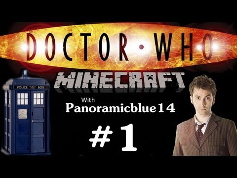 Minecraft Doctor Who Mod | Ep. 1 - The TARDIS