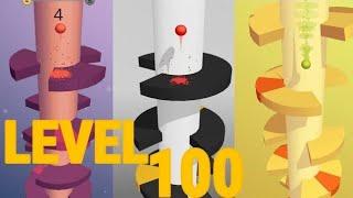 HELIX JUMP LEVEL 100 (#REALCAMPEÃO)