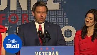 Republican Ron DeSantis elected 46th Governor of Florida