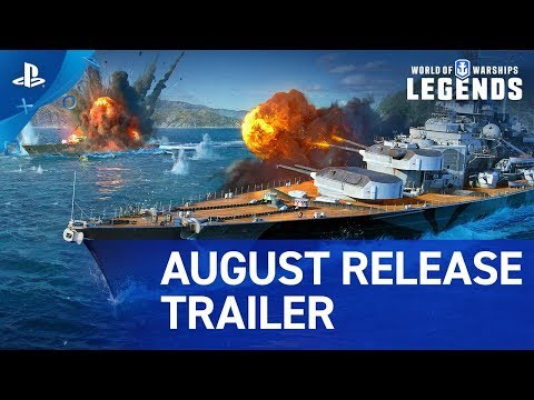 World of Warships Legends exits early access