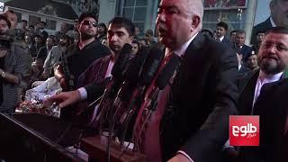 Dostum's addresses supporters in Kabul / سخنرانی جنرال دوستم در میان هوادارانش در کابل