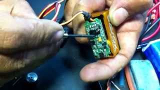 Savox 1258tg / 1257TG  How to service / repair the servo, the pc board and motor
