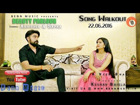 Sapna Chaudhary Haryanvi Dancer NEW LOOK For Beauty Parlor