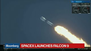 SpaceX Launches Falcon 9 Rocket Carrying Qatari Satellite