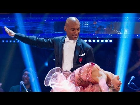 Colin Salmon & Kristina Foxtrot to 'Ac-Cent-Tchu-Ate The Positive' - Strictly Come Dancing 2012- BBC