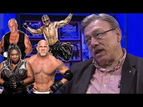 John Cena Sr Shoots on Goldberg, Rey Mysterio, Mercury, Kharma WWE Returns :: Wrestling Insiders