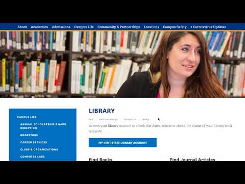 How-To Guide on Library Services at Kent State University Geauga and Twinsburg Academic Center