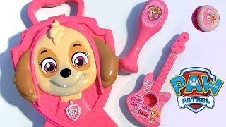 Skye Case Surprise Paw Patrol Carry Case plus toys Nickelodeon toys review