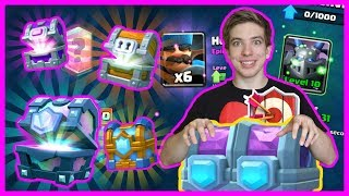 OPENING A GOLD RUSH! | Clash Royale