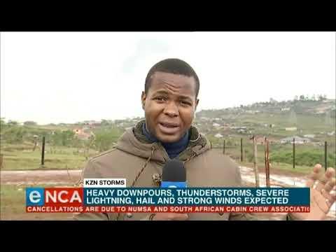 Stormy Weather For KZN
