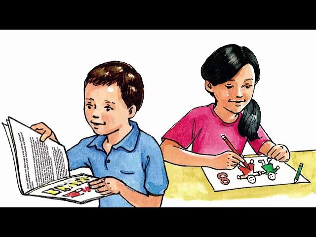 الصف الثاني إنجليزي الفصل الثاني الصفحة 4 و5
