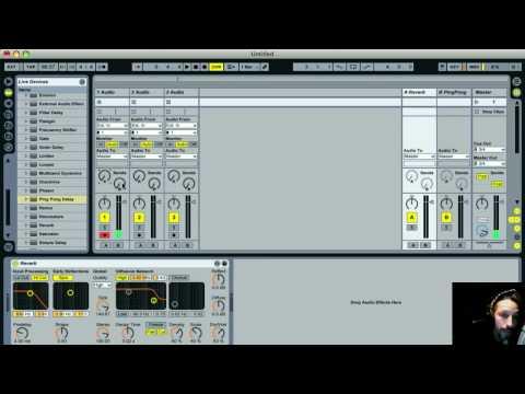 Ableton Live 8 Looper TUTORIAL! w/ Nico Luminous Pt. 1