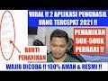 VIRAL !! 2 APP PENGHASIL UANG TERCEPAT 50K-500K/PERHARI !! SELAIN TIKTOK LITE, SNACK VIDEO & HELO !!