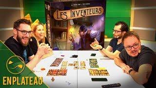 Découverte du jeu de société Les Inventeurs - En Plateau