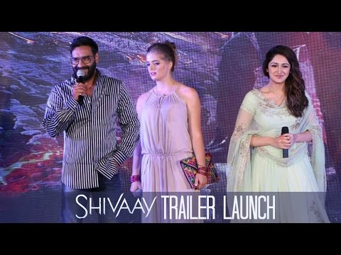 Shivaay Official Trailer Launch At Indore...