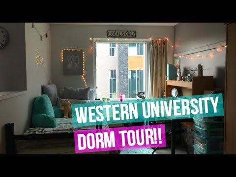 Western University Dorm Tour 2017!! | Ontario Hall