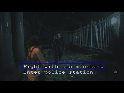 Resident Evil 3 Remake First Nemesis Fight