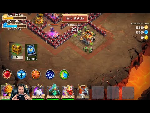 JT'S Free 2 Play Account Opening Rewards 3 Flaming Dungeons Castle Clash