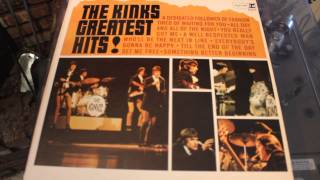 THE KINKS - WELL RESPECTED MAN - GREATEST HITS LP RECORD
