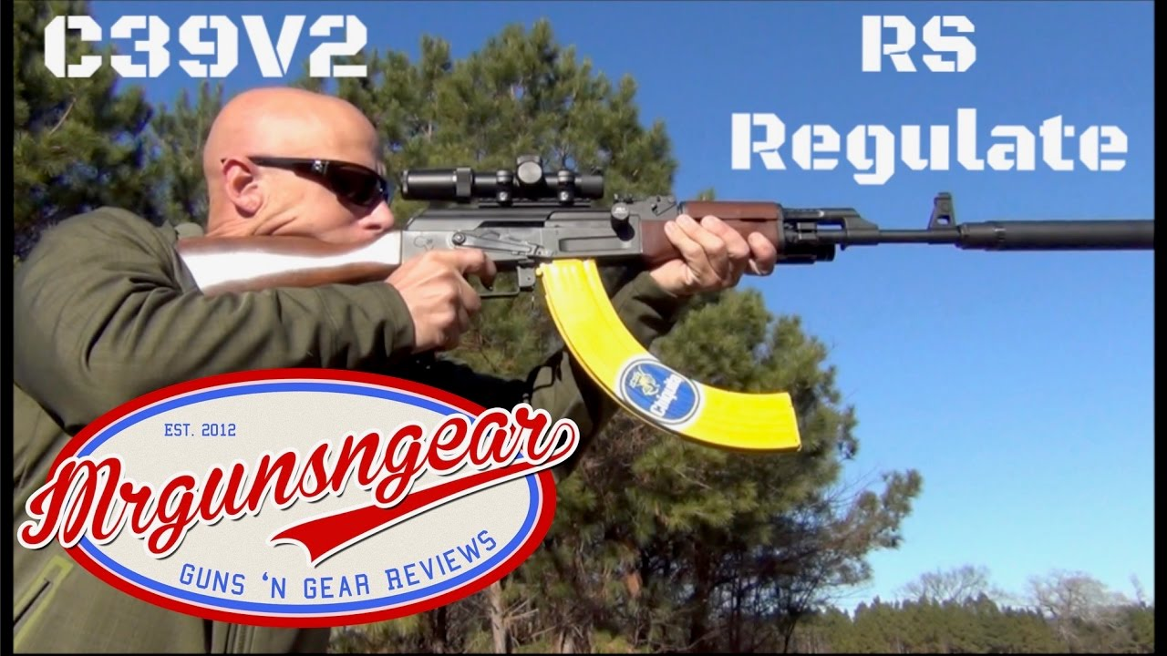 RS Regulate AK-309 Mount For Century RAS-47 & C39V2 With An Accuracy Test  (HD)