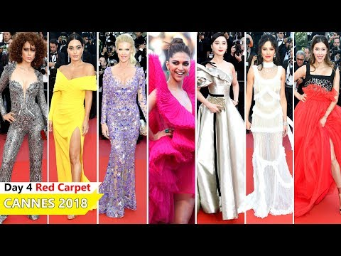 Cannes Film Festival 2018 [ DAY 4 ] Red Carpet | Full Video | Celebrity Dresses